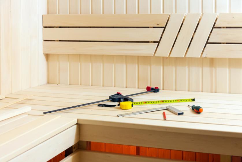 sauna-installeren